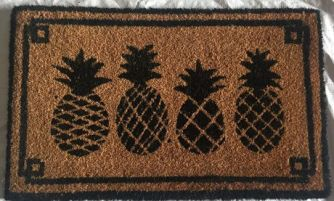 pineapple rug only 9.99 at walmart