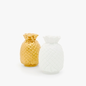 pineapple slat and pepper shakers from Zara Home
