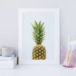 pineapple wall art from Etsy shop owner